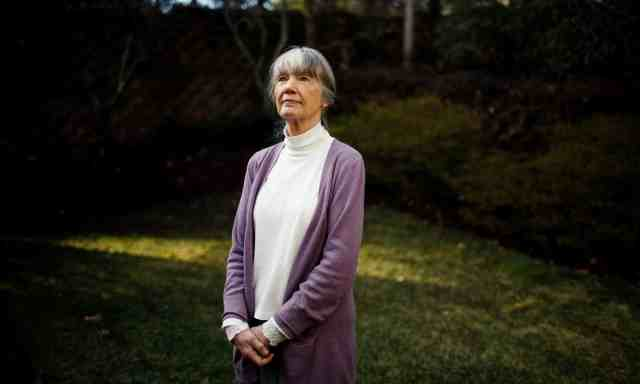 Anne Tyler, photo from The Guardian