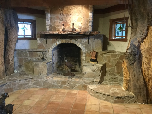 Fireplace, JMN, photo. (c) 2018 James Mansfield Nichols. All rights reserved.