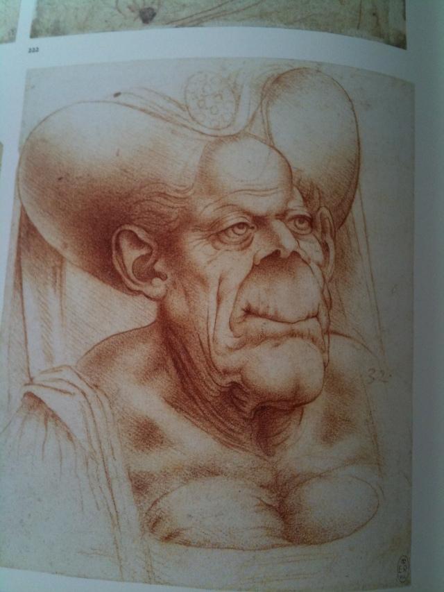Leonardo caricature1