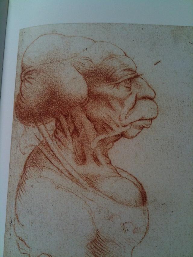 Leonardo caricature2