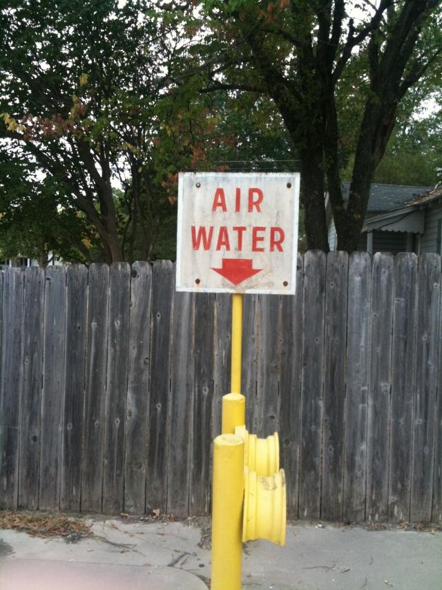Air, Water.