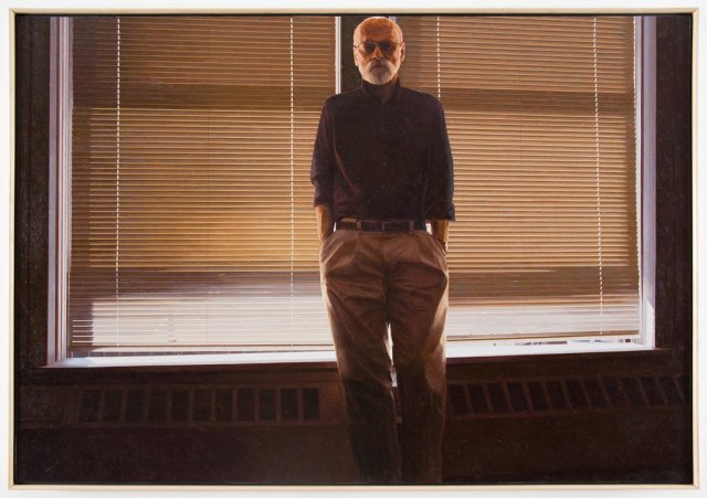 Robert Bechtle painted himself as a kind of mystic in North Adams Studio, from 2008. CreditRobert Bechtle Gladstone Gallery