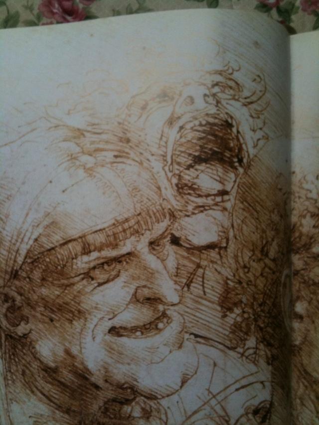 Faces. Leonardo.