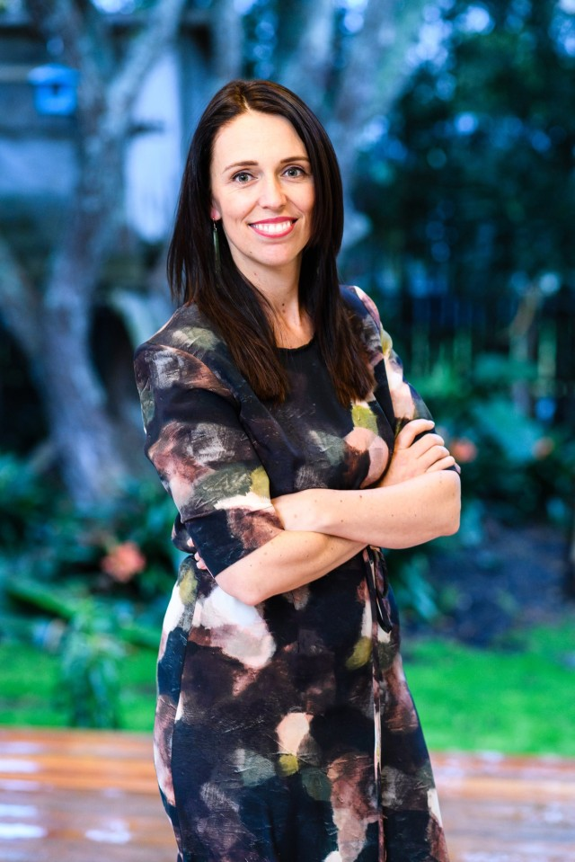 Prime Minister of New Zealand Jacinda Ardern, at her home in Auckland. CreditMark Coote for The New York Times