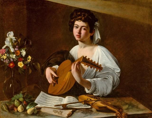 Caravaggio Lute Player
