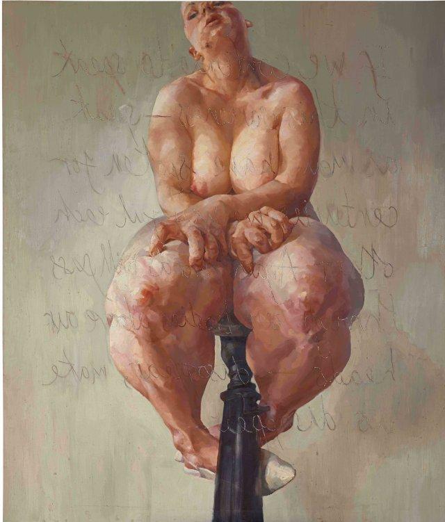 Jenny Saville painting