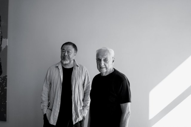 ai weiwei and frank gehry