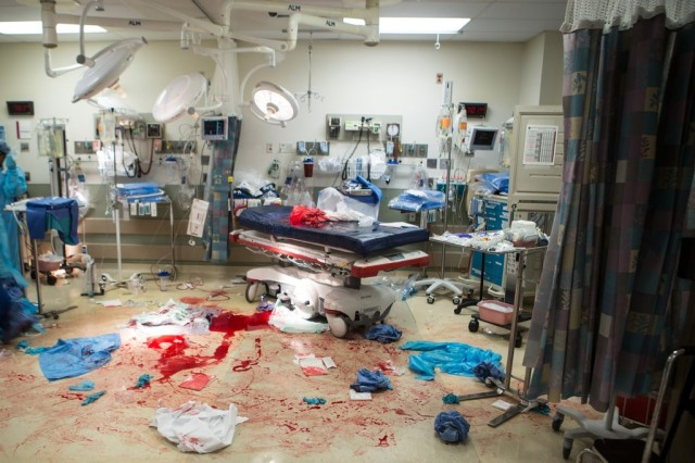 trauma bay temple hospital philadelphia