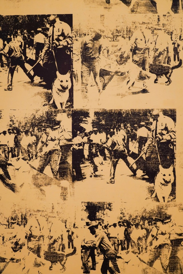 andy warhol mustard race riot