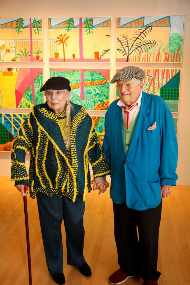 joni mitchell and david hockney