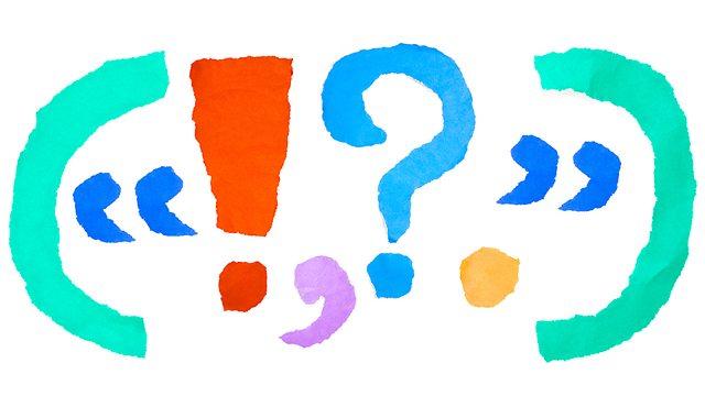 punctuation colorful BBC