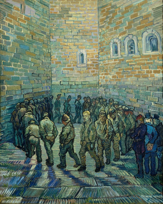 van gogh prisoners exercising