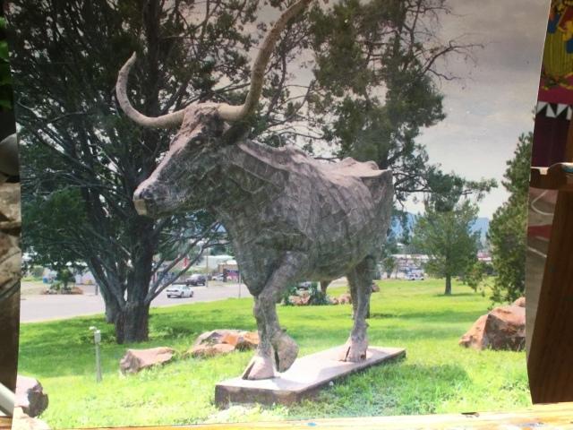HJN longhorn steer