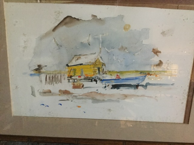 EMS. Buck Schiwetz watercolor