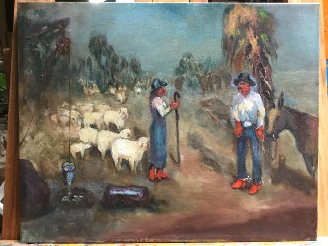 HJN biblical painting