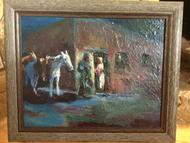 HJN. Oil on canvas 2