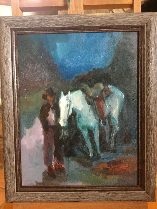 HJN. Oil on canvas