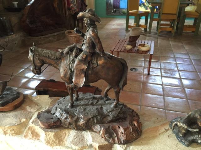 HJN. Resting cowboy 2. Bronze