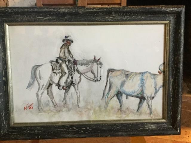 HJN. Watercolor. Traildrive