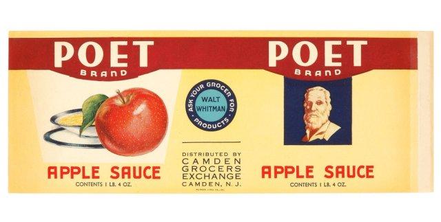 walt whitman apple sauce
